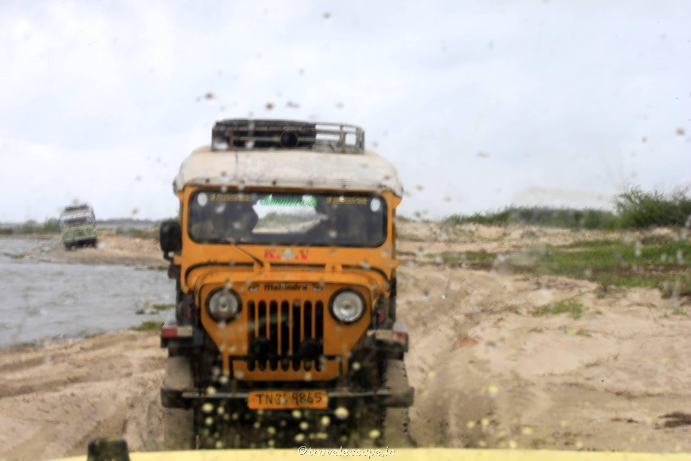 Dhanuskodi Jeep