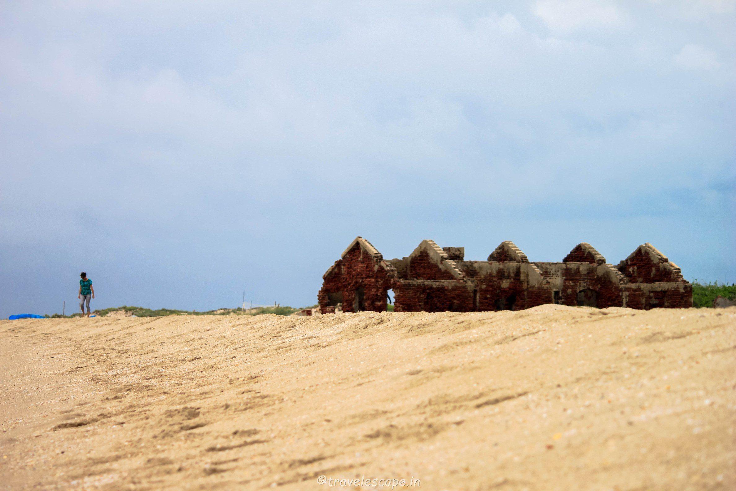Dhanuskodi Ruins