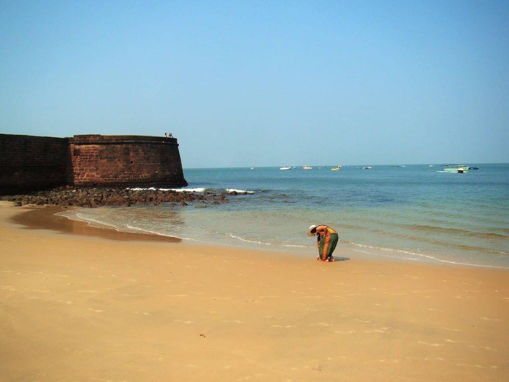 Goa Fort Aguada Sinquerim Beach