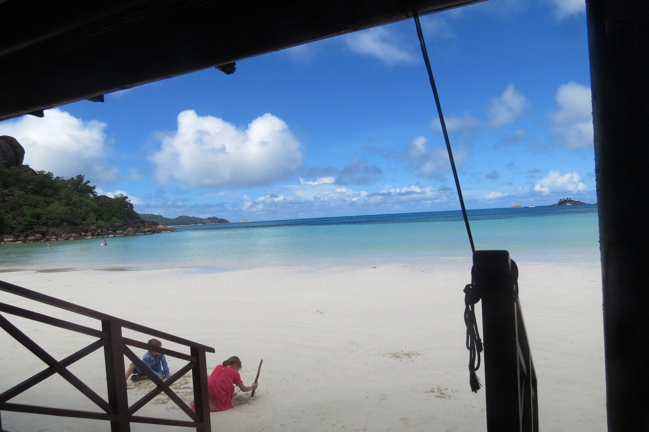 Seychelles Cote d'Or beach