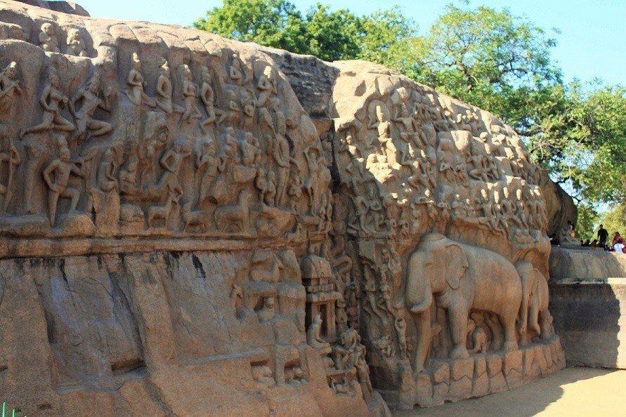 Mahabalipuram Arjuna Penance