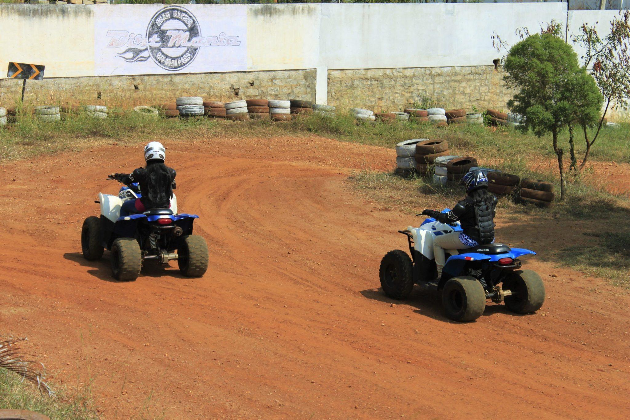 ATV Ride At Dirt Mania