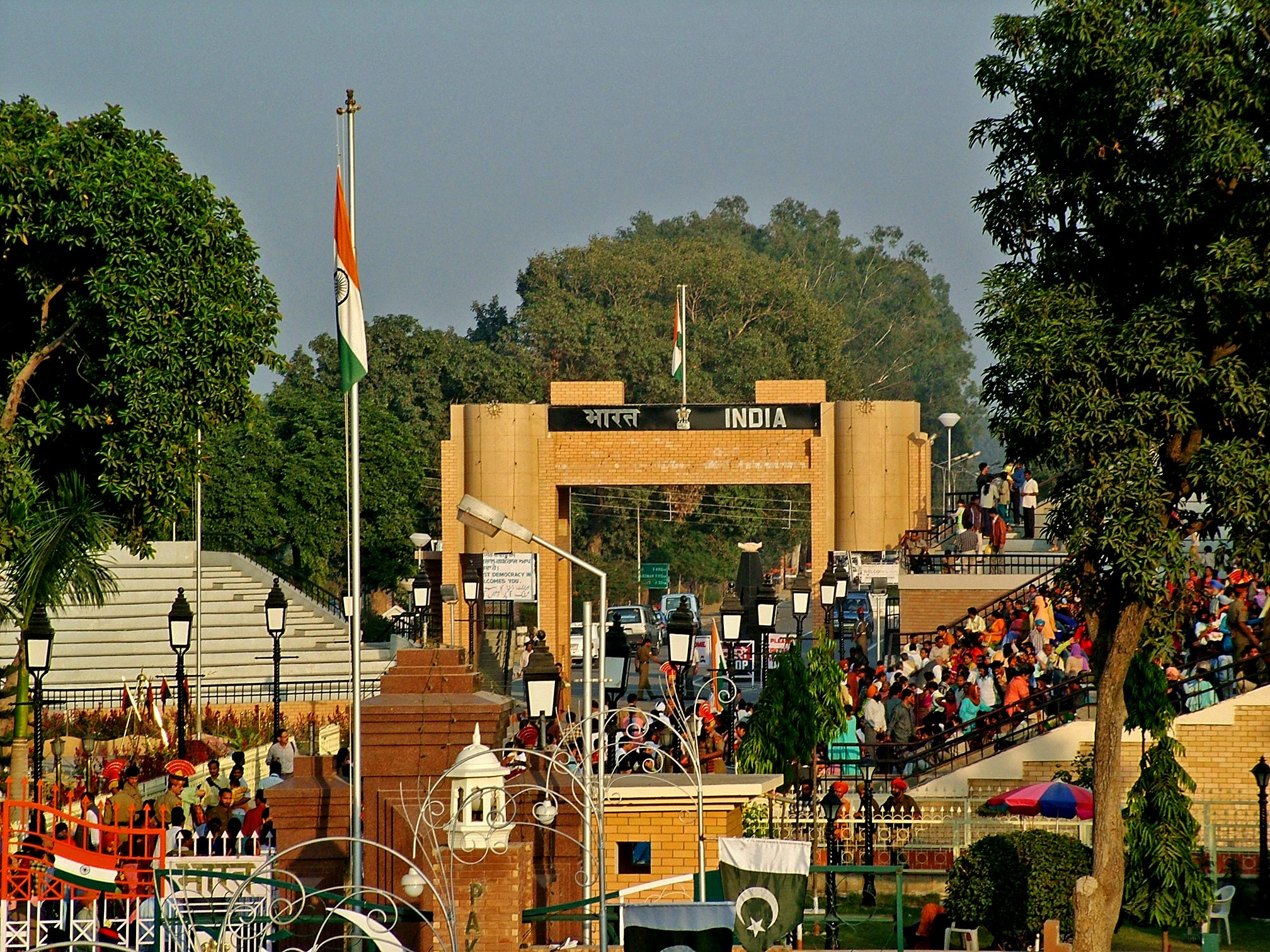 Indian Side of the Wagah Border