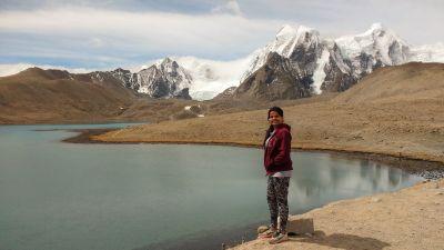 Priya Sharma solo trip
