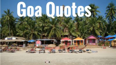 Goa Quotes