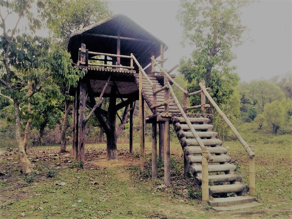 kaziranga national park, ethnic village, assam, india, assam tourism