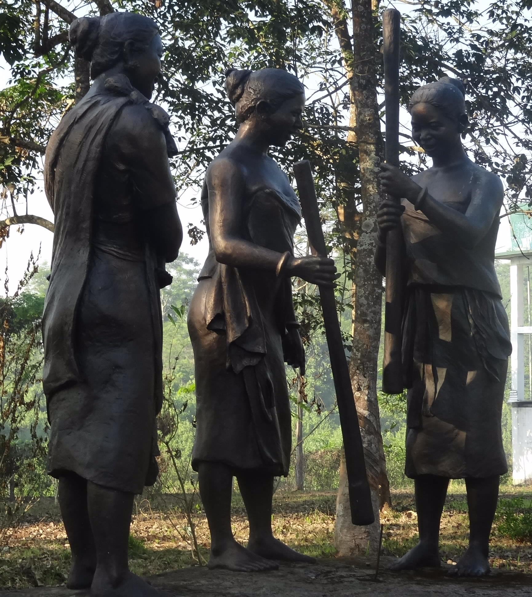 kaziranga national park, ethnic village, assam, north-east india, assam tourism