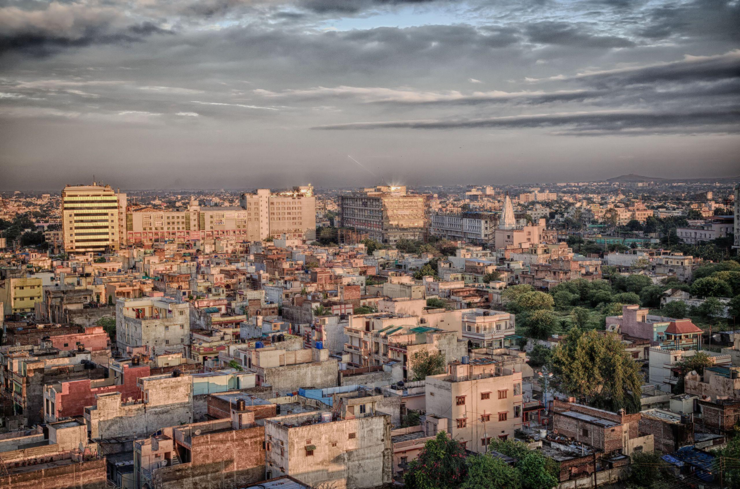 Indore Skyline