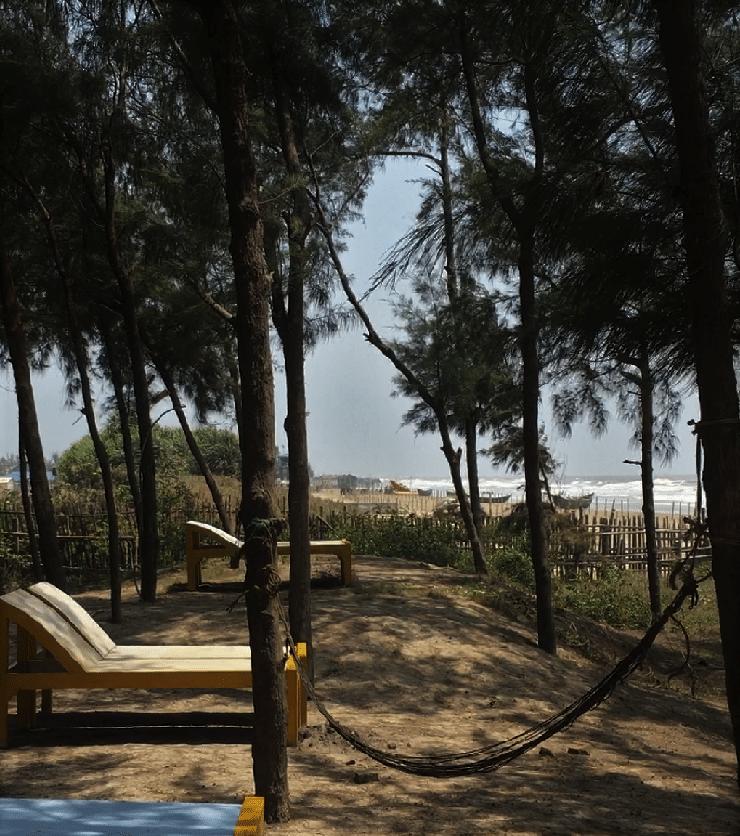 Mandarmani, India, Resort Village, West Bengal, digante resort