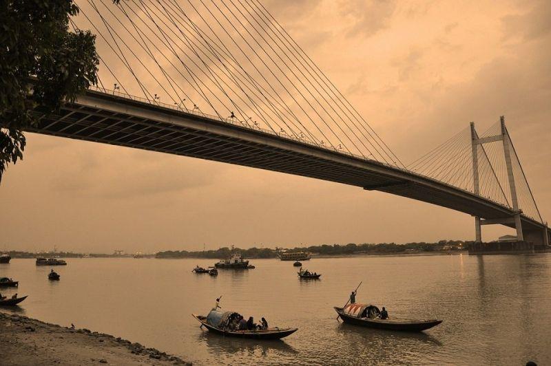 kolkata-Howrah Bridge