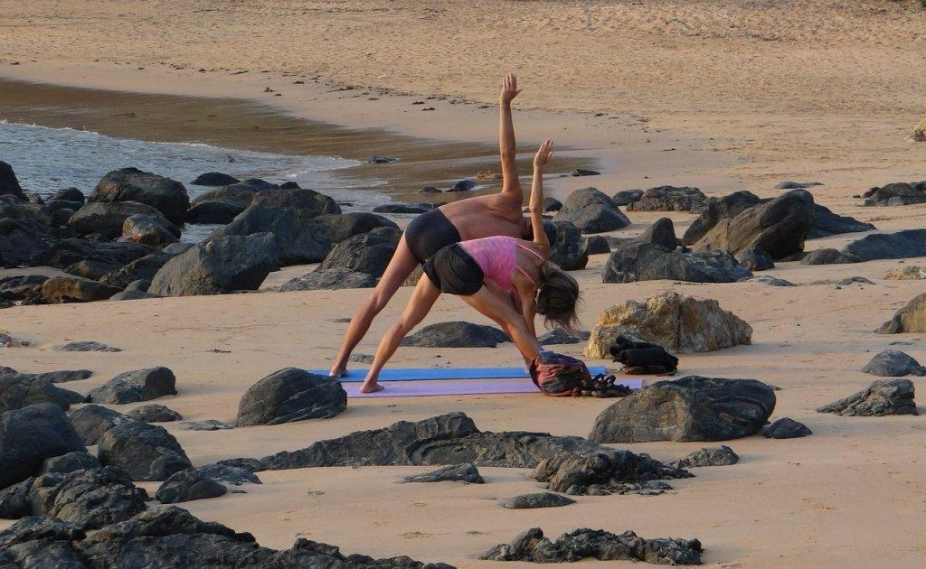 Yoga Om Beach