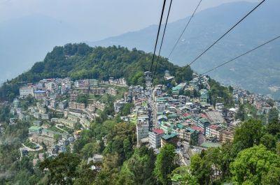 Sikkim Gangtok Landscape