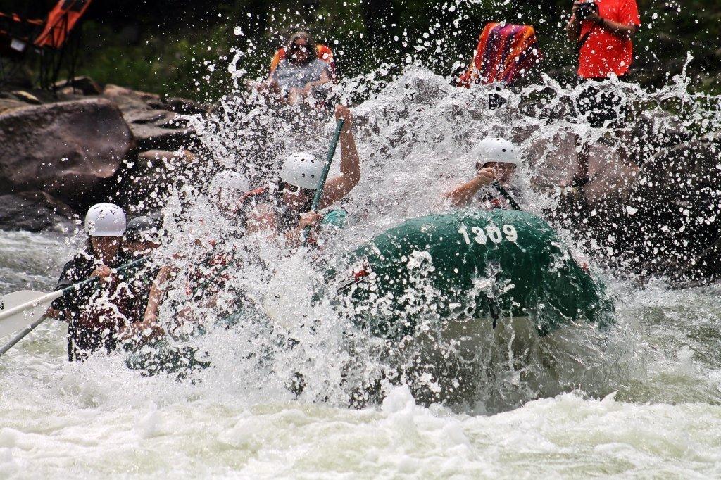 Rafting Adventure at Rishikesh