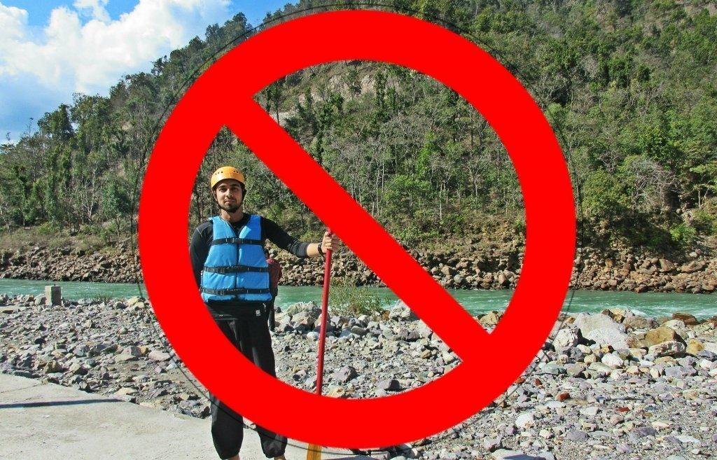 Rafting Ban in Rishikesh