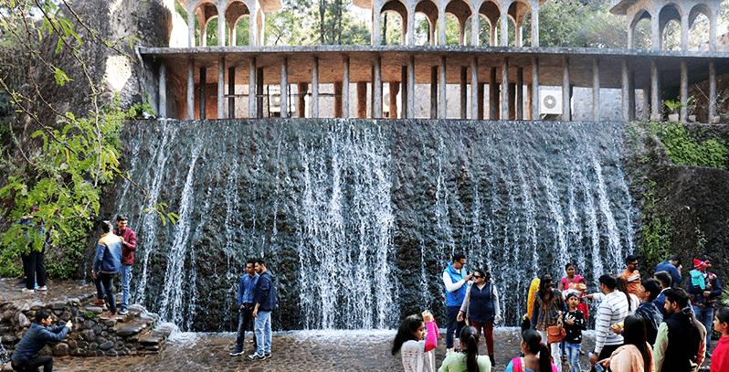 Rock garden Fountain