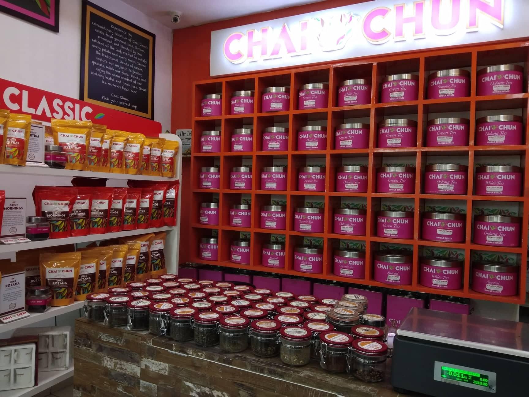 Chai chaun darjeeling