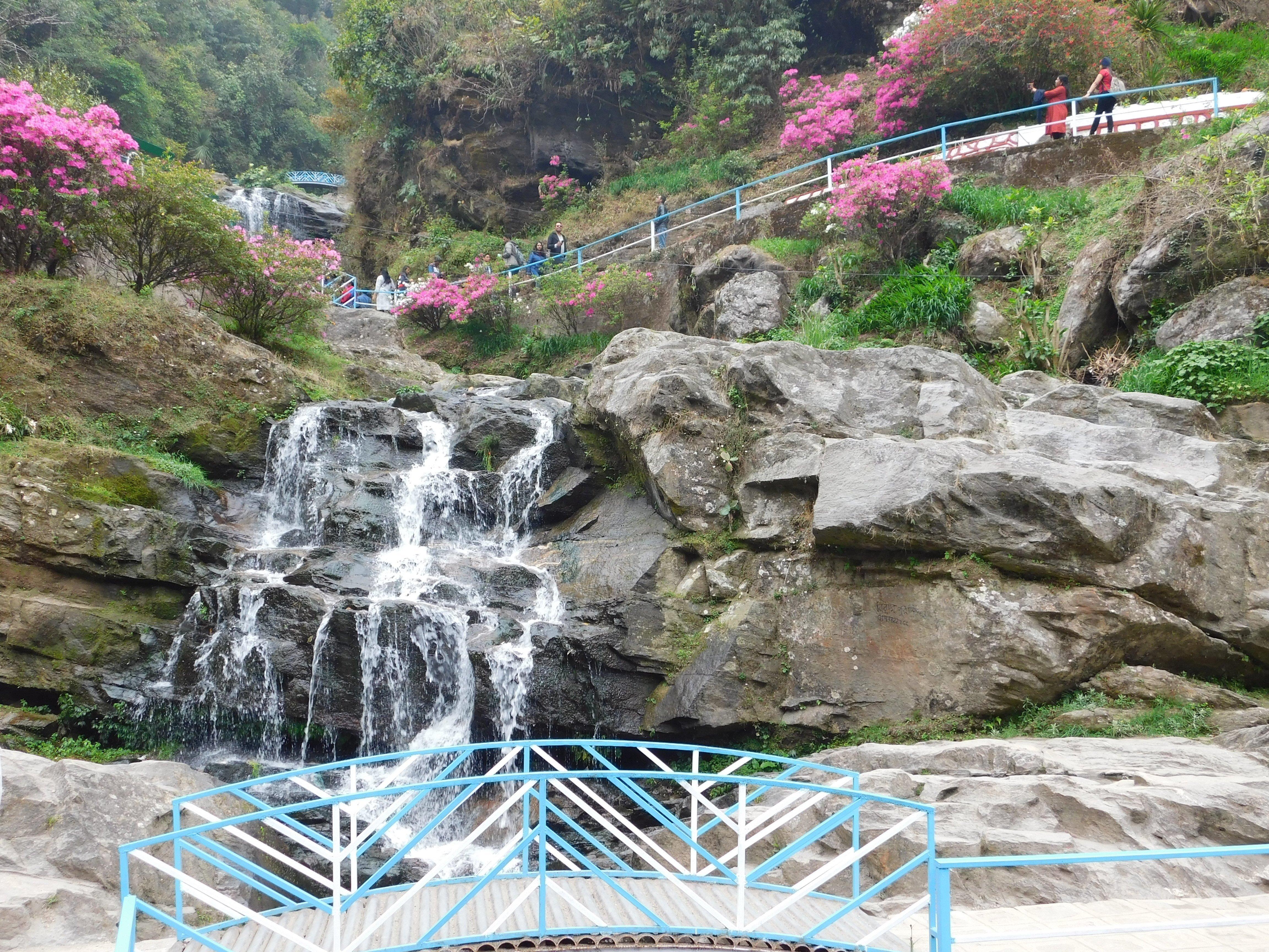 Darjeeling rock garden