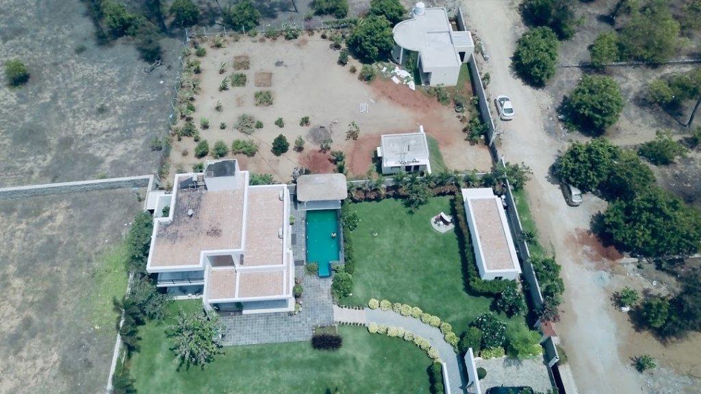 Manna Villa Top View