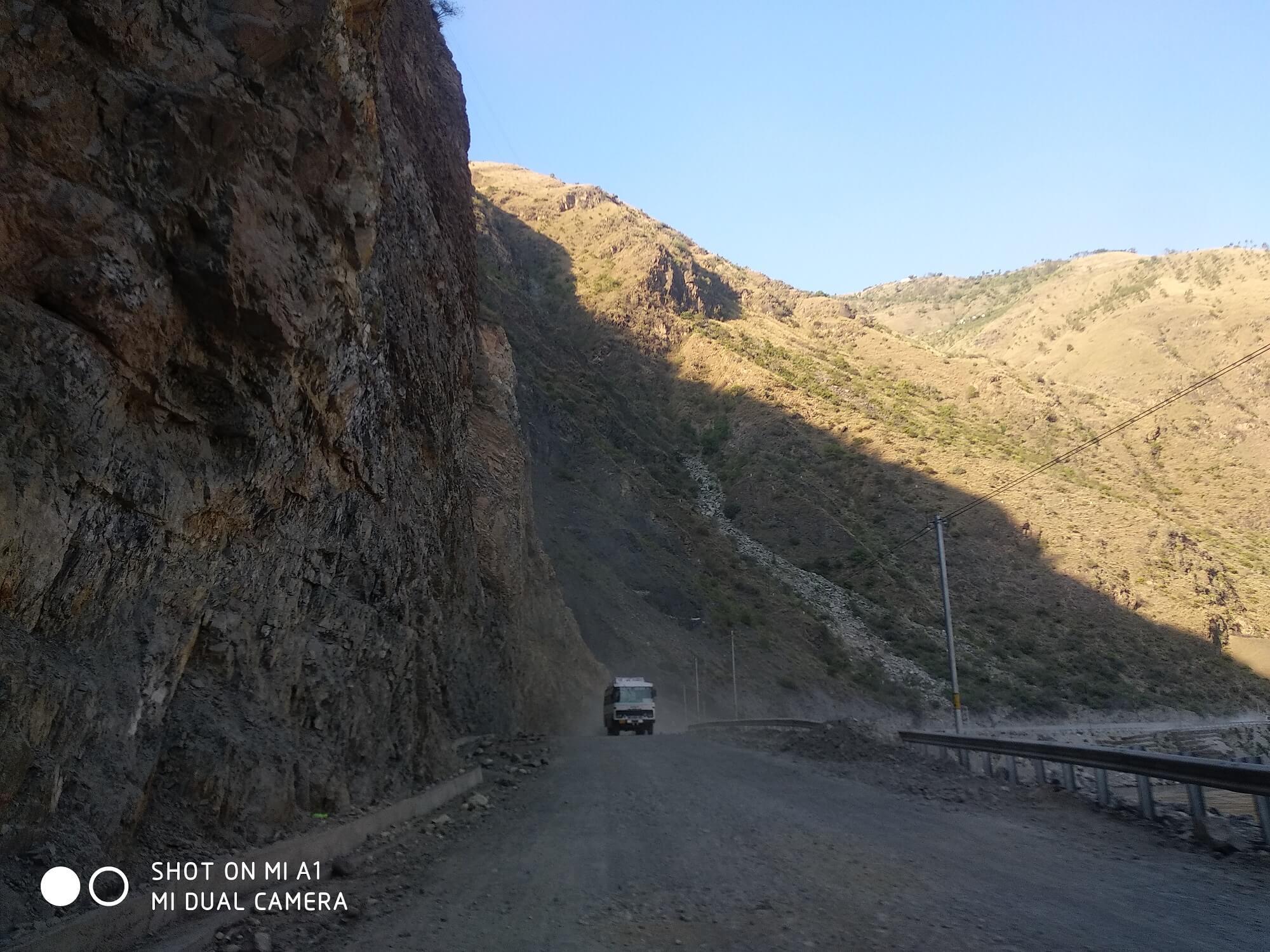 Challenging Terrains of Sainj Valley