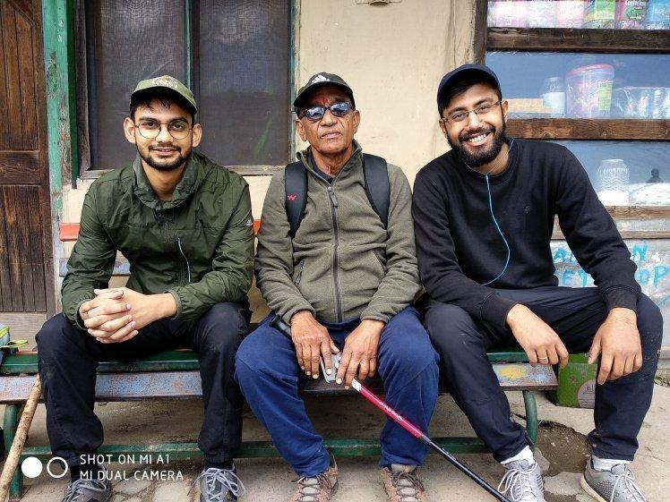 Selfie with Mr Ashok Kumar Gupta
