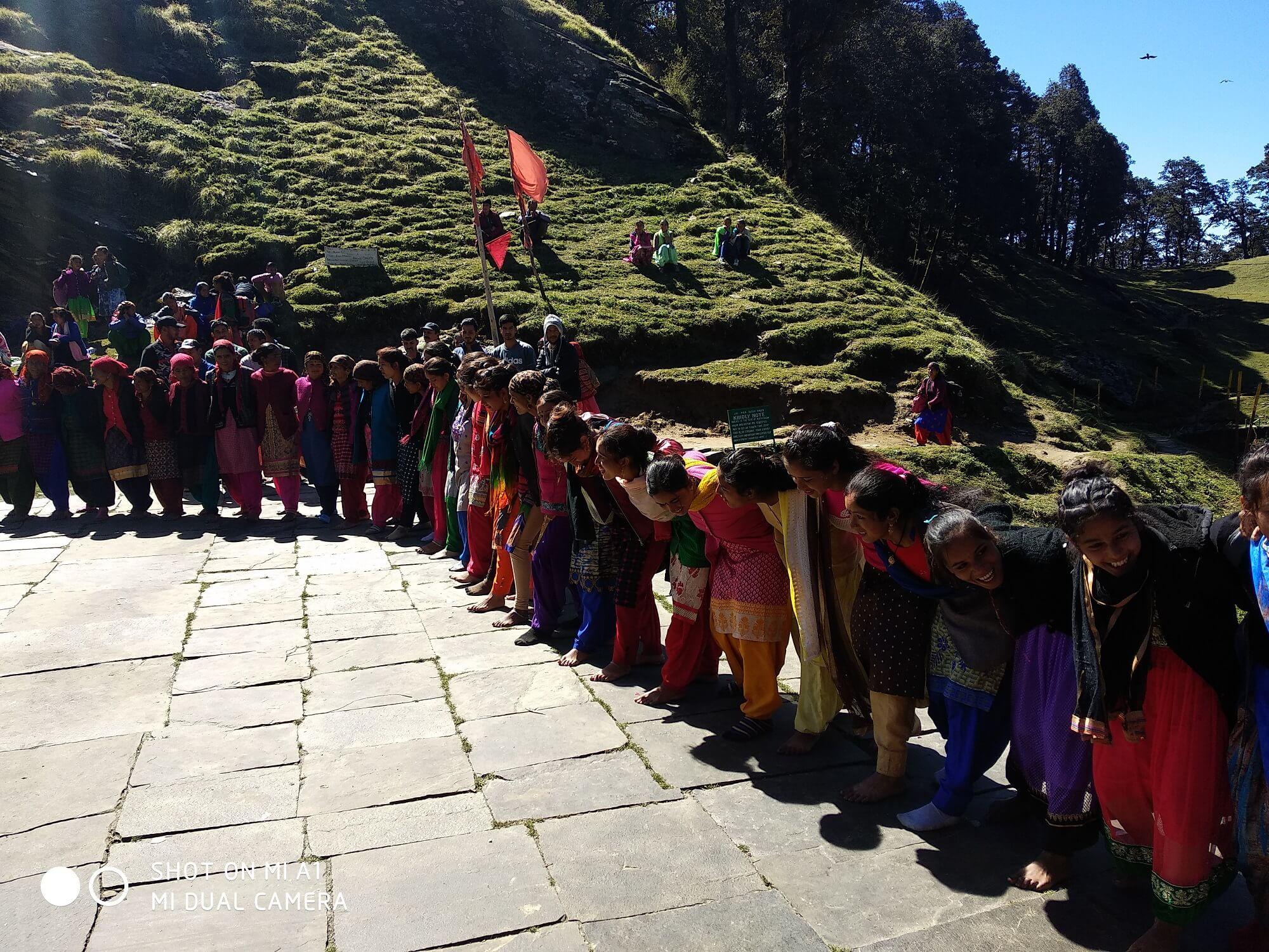 Villagers Performing Nati Dance
