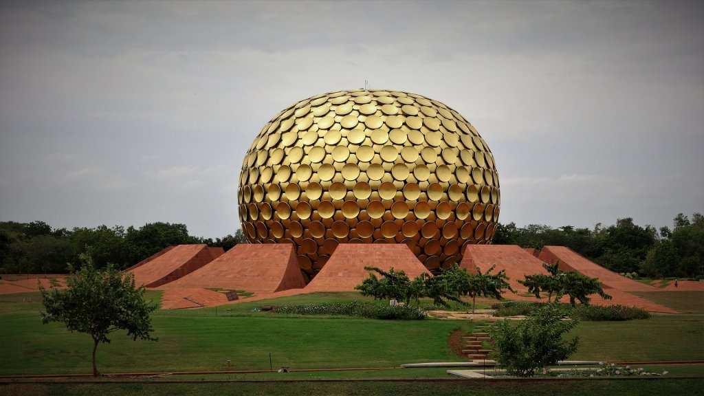 Pondicherry Auroville Matrimandir