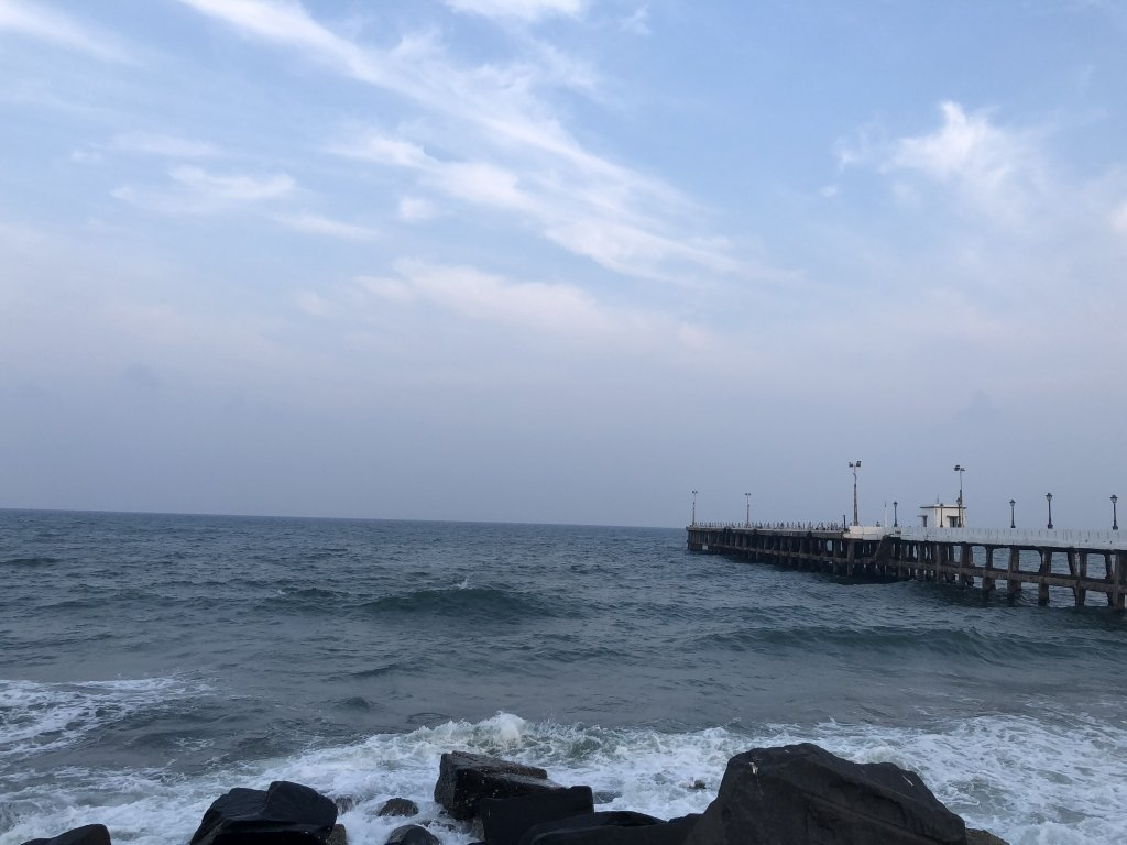 Pondicherry Rock Beach Promenade