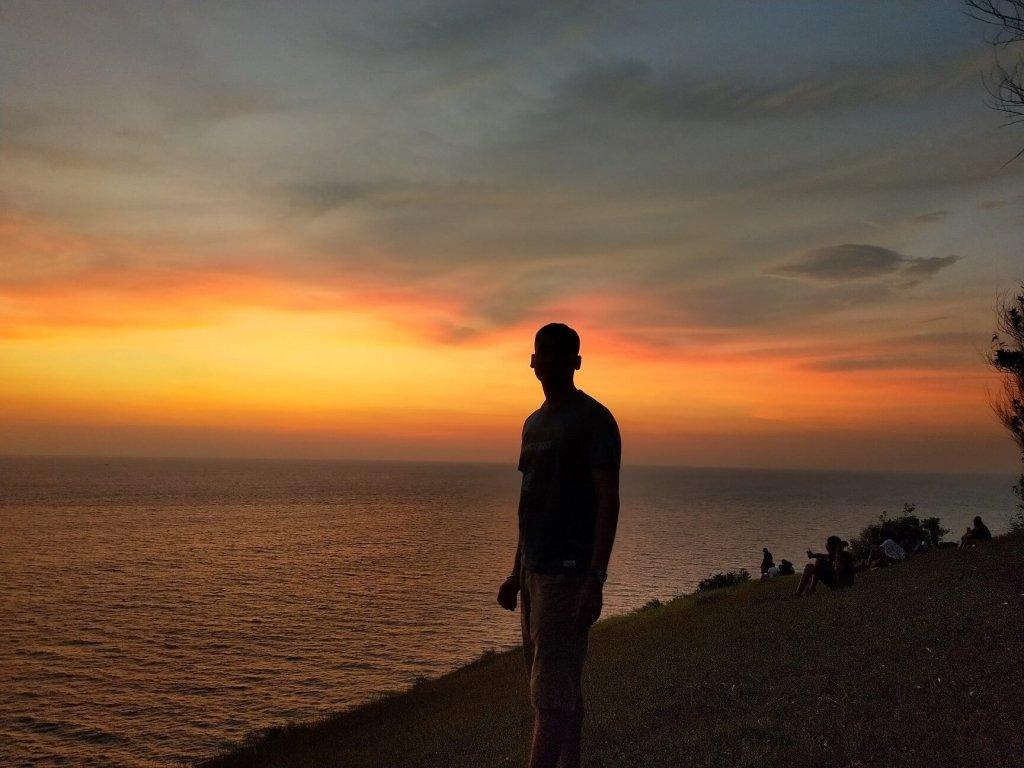 Kudle Beach Sunset