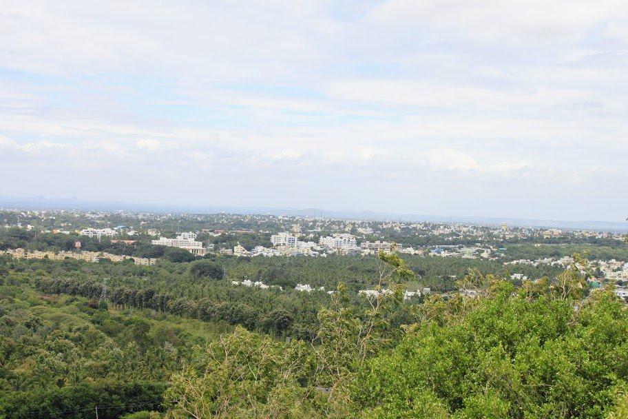 View from Chamundi Hills
