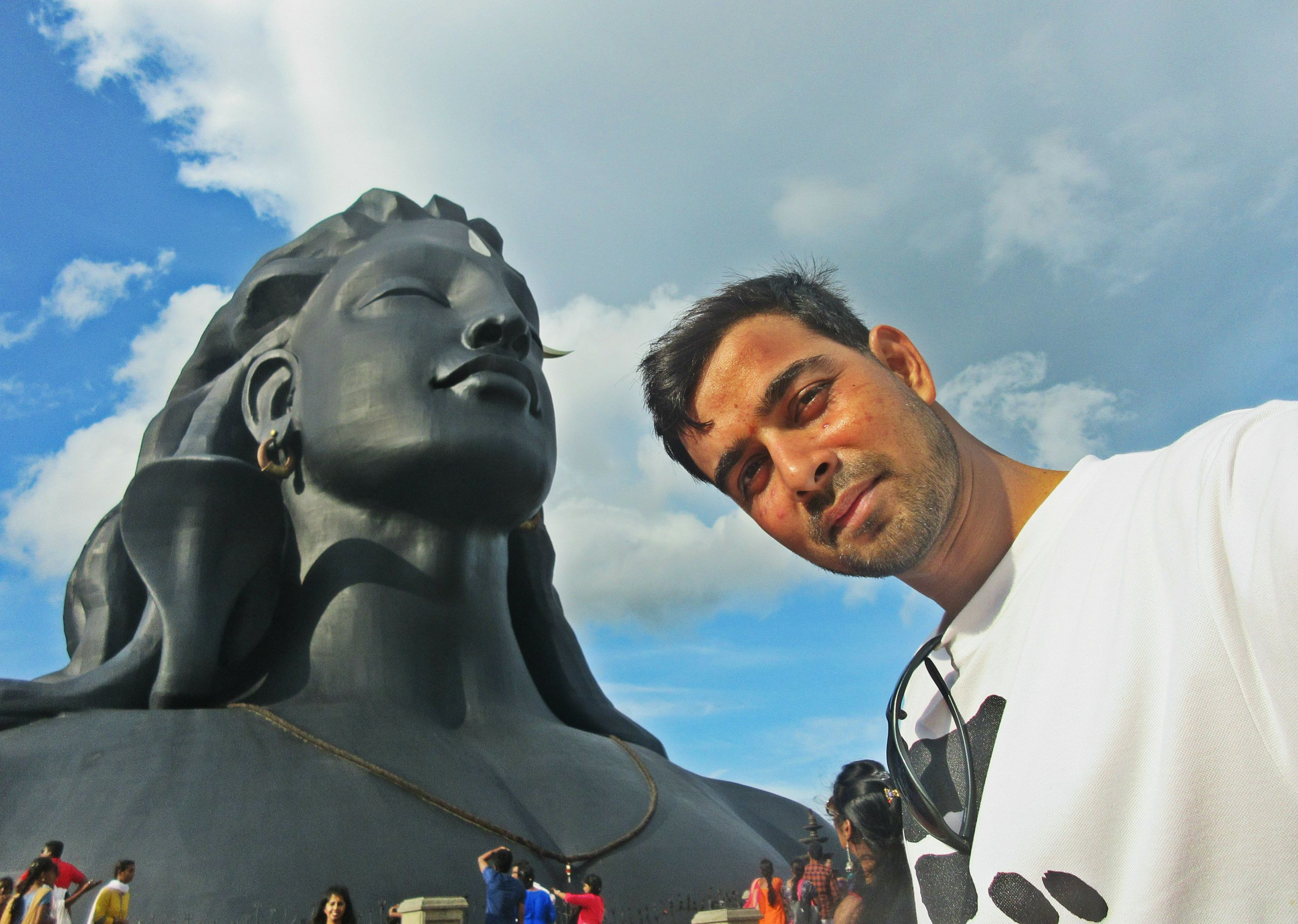 Shiva Statue Isha foundation