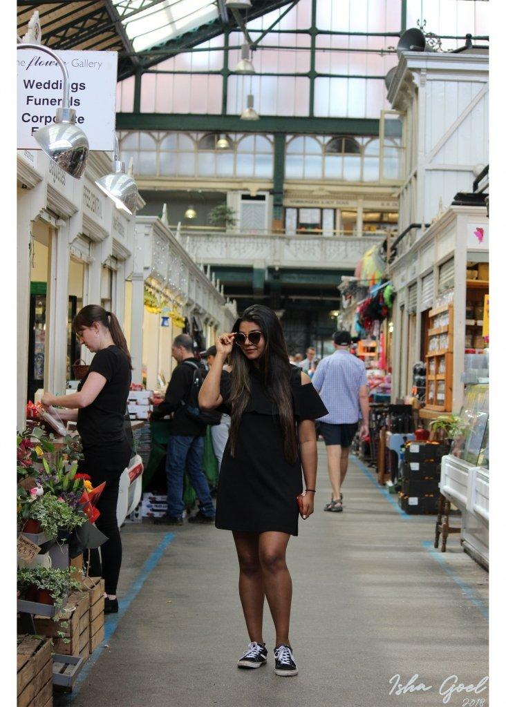 photoshoot at cardiff market