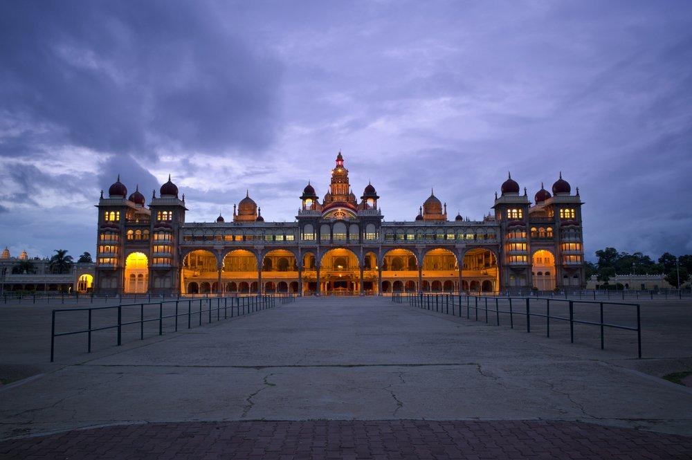Mysore palace Night