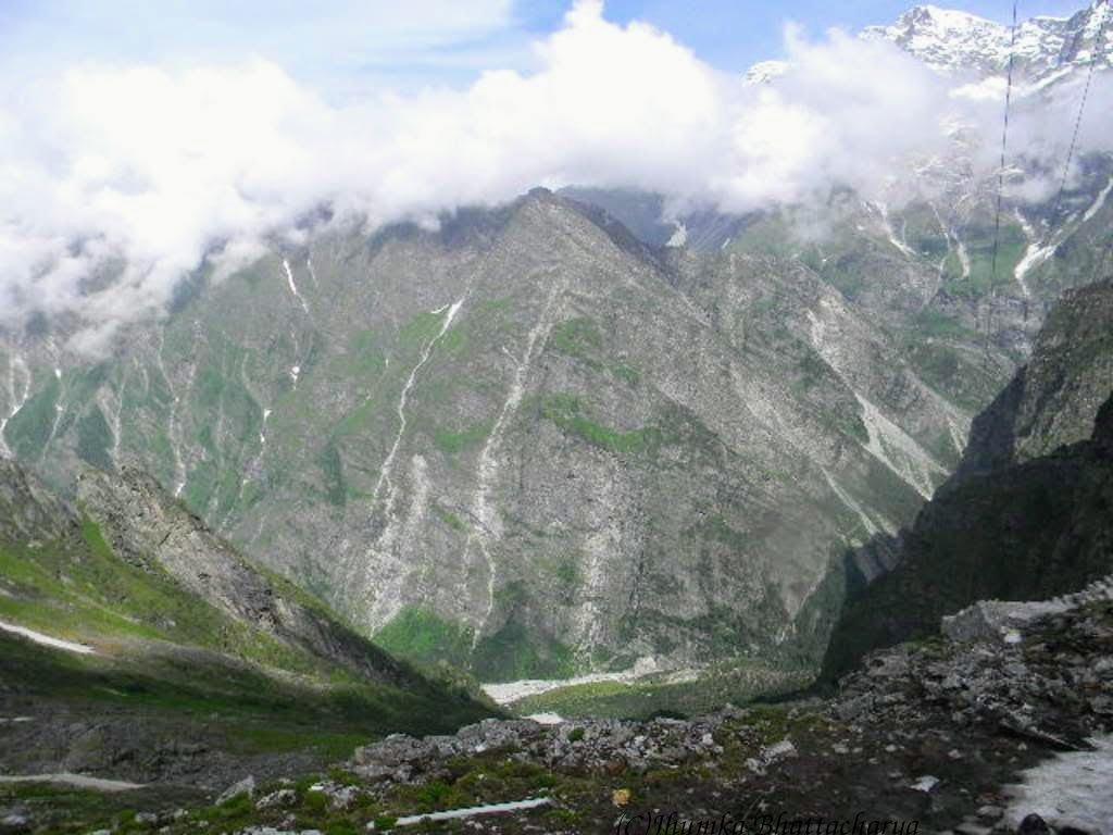 View from Hemkund Sahib