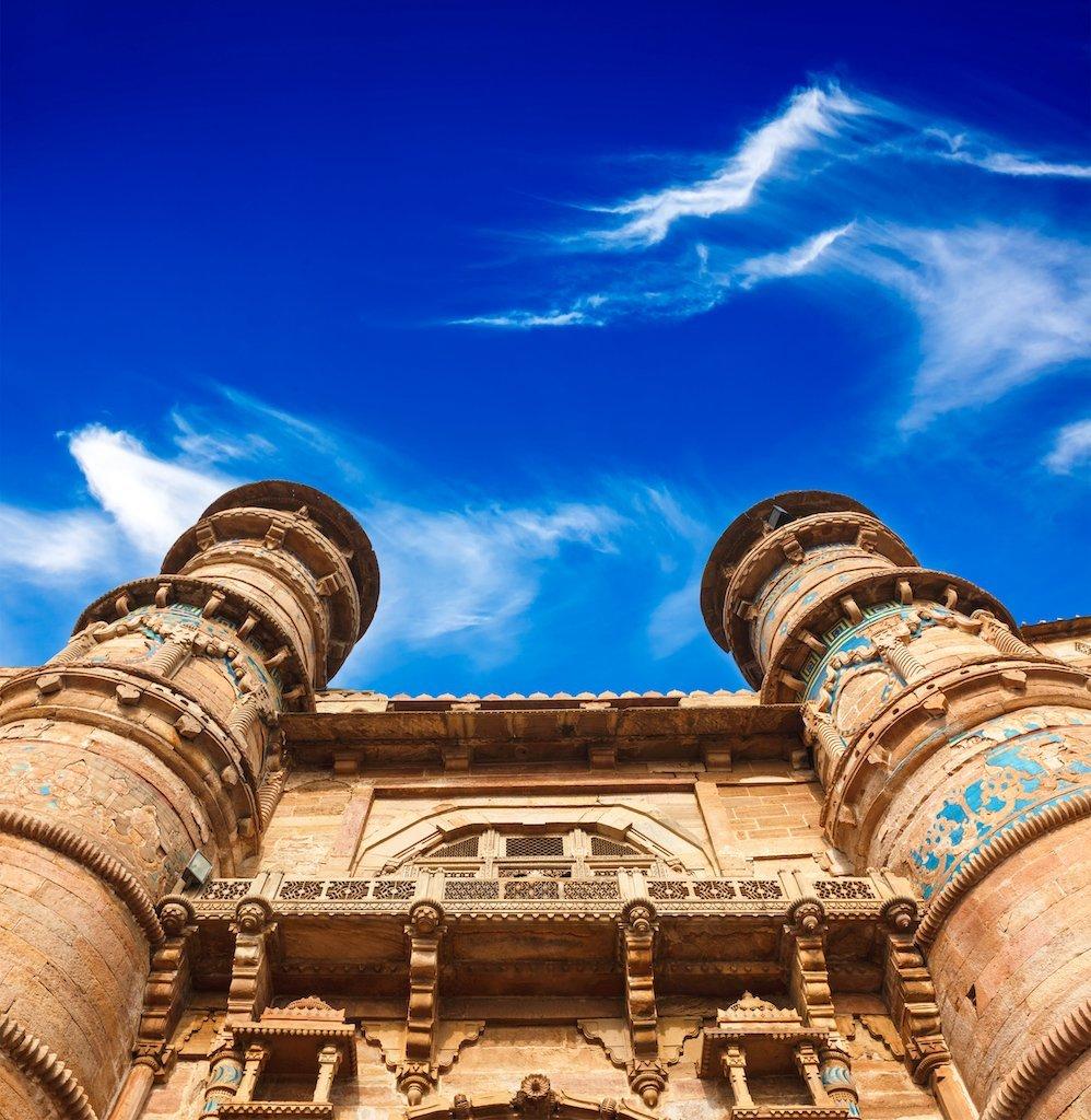Gwalior fort Entry