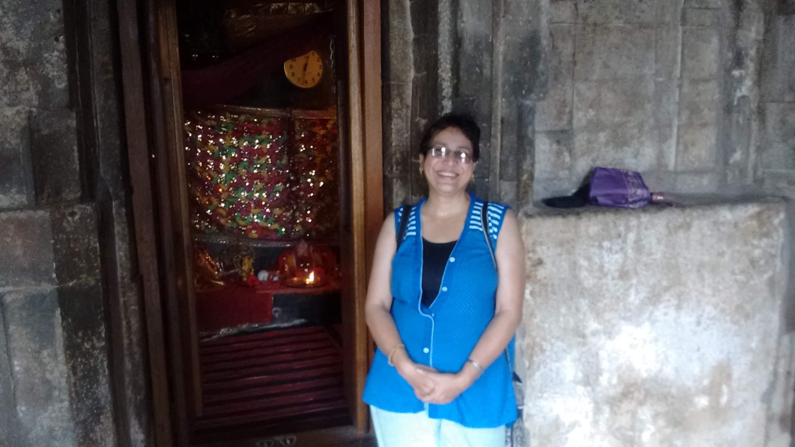 Jhumka Bandyopadhyay at Kangra fort