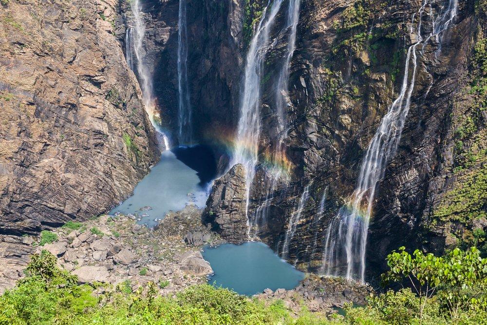Jog Falls Rainbow