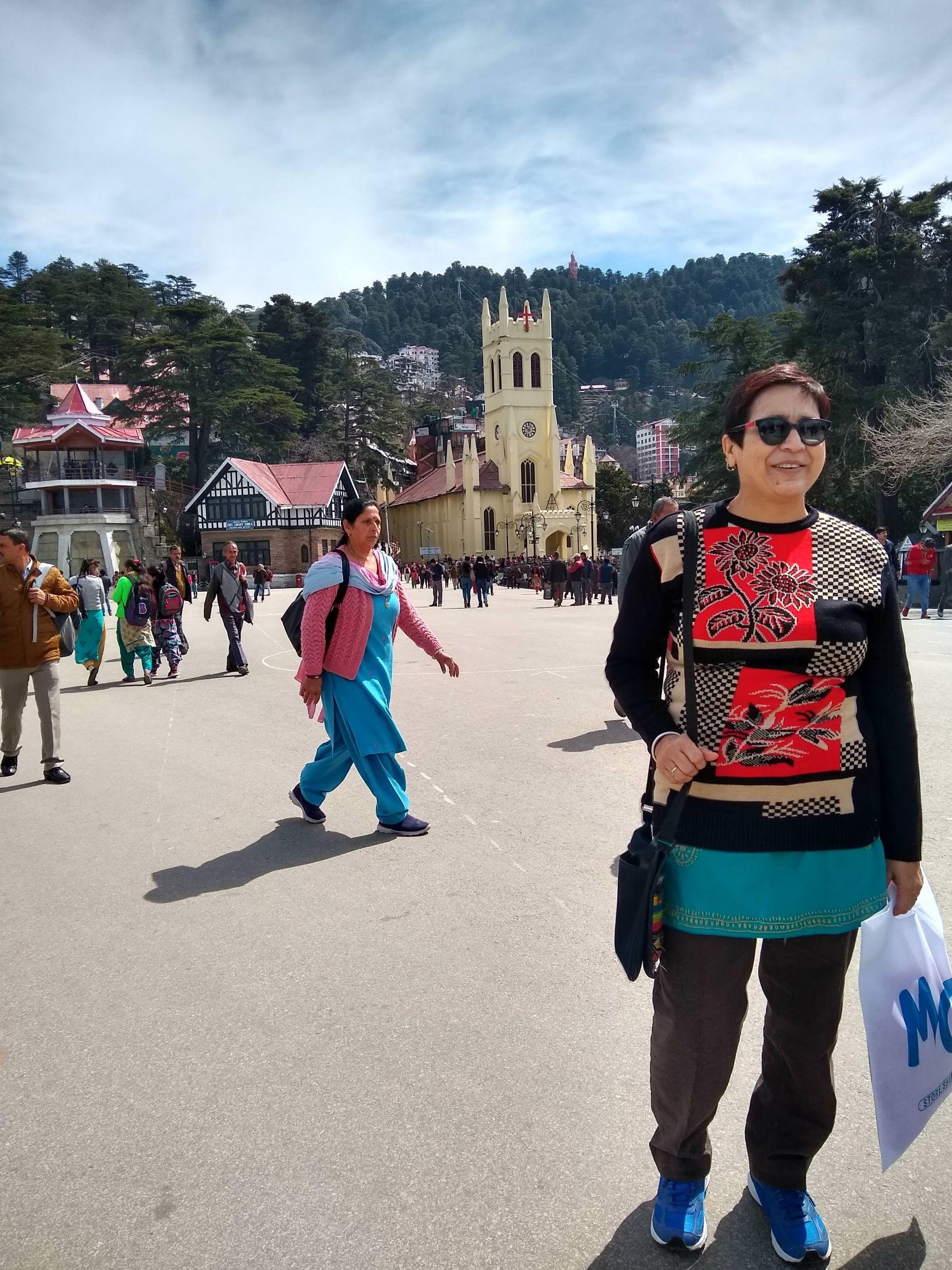 Jhumka Bandyopadhyay at Shimla Mall