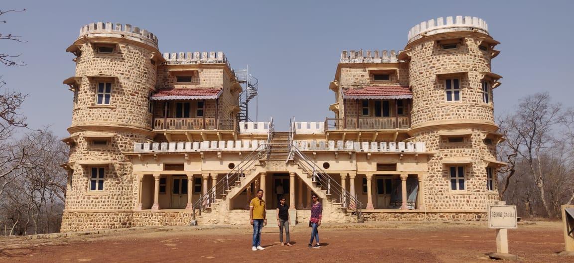 George castle Madhav National Park