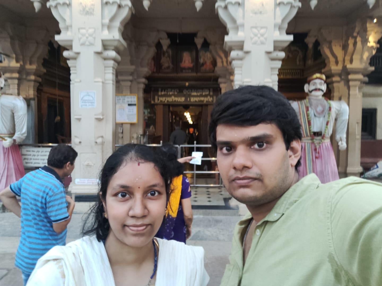 After darshan of Upadi Krishna