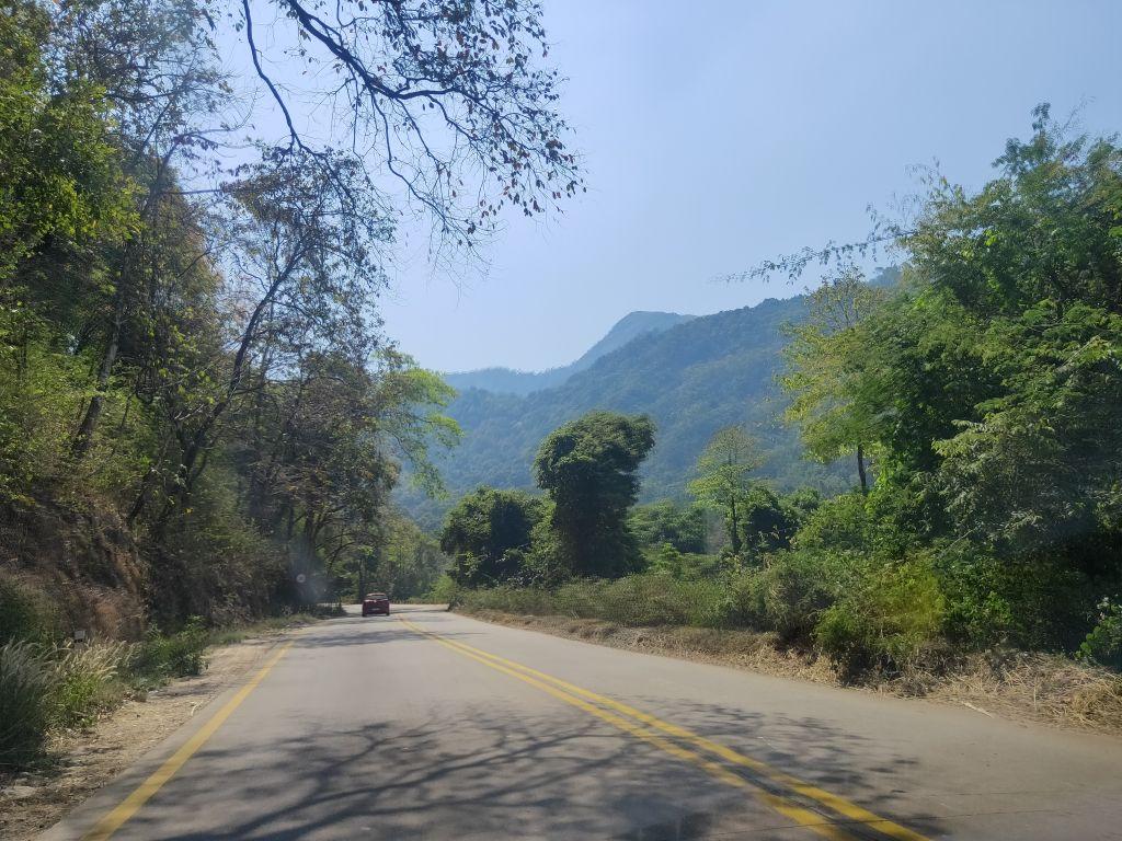 The Dharamasthala Temple Road