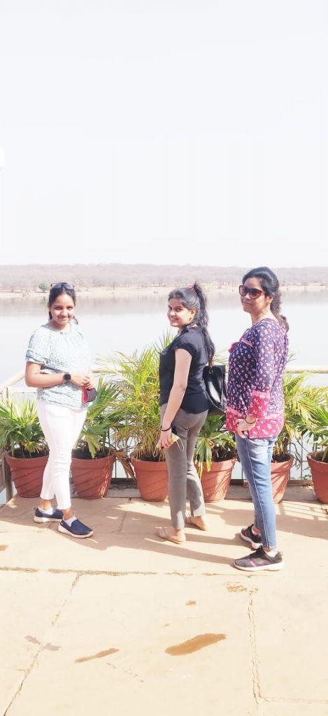 Lake at Madhav National Park Gwalior