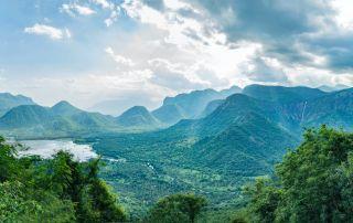 Mountains on the Way to Kodaikanal